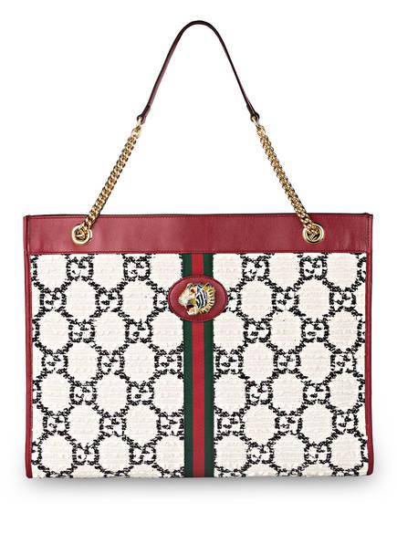 GUCCI Shopper RAJHA LARGE mit Pouch, Farbe: NATURAL BLACK/ ROMANTIC CERISE (Bild 1)