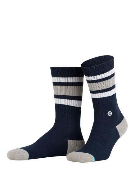STANCE Socken BOYD 3, Farbe: DUNKELBLAU/ GRAU (Bild 1)
