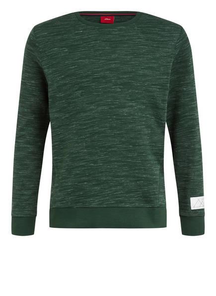 s.Oliver Sweatshirt, Farbe: GRÜN (Bild 1)