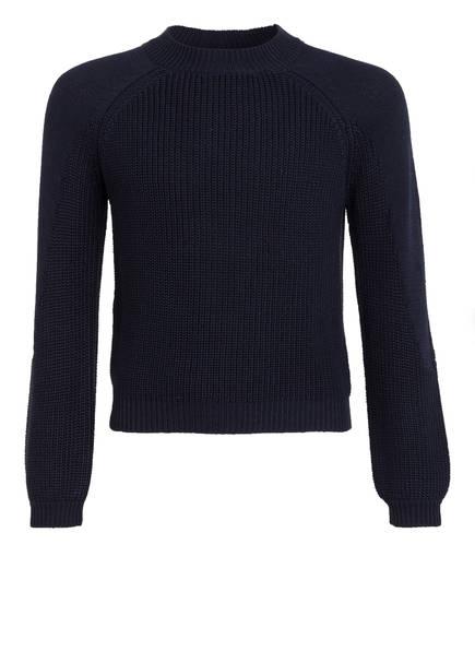 s.Oliver Cropped-Pullover, Farbe: BLAU (Bild 1)