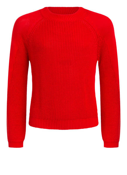 s.Oliver Cropped-Pullover, Farbe: ROT (Bild 1)