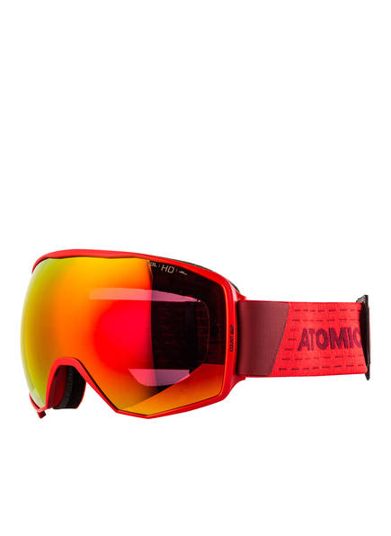ATOMIC Skibrille COUNT 360° HD , Farbe: ROT/ GELB (Bild 1)