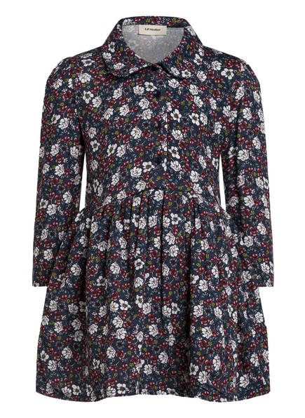 Lil' Atelier Kleid , Farbe: DUNKELBLAU/ WEISS/ DUNKELROT (Bild 1)