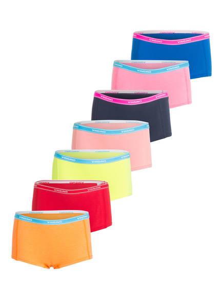 VINGINO 7er-Pack Panties COLORBOMB, Farbe: ORANGE/ PINK/ GELB (Bild 1)