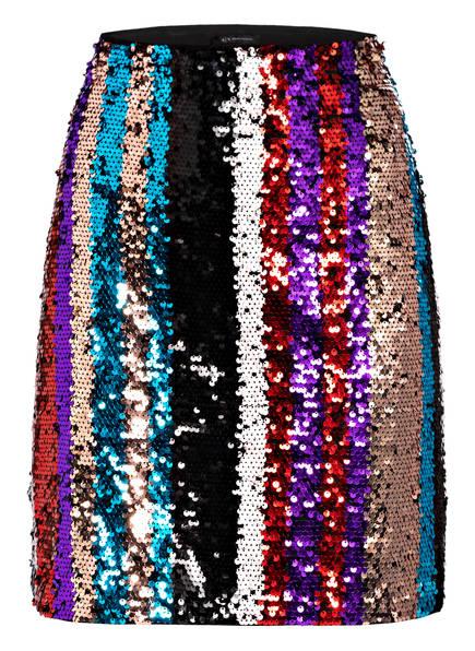ARMANI EXCHANGE Paillettenrock, Farbe: SCHWARZ/ GOLD/ ROT (Bild 1)