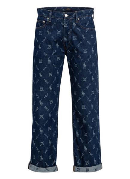 POLO RALPH LAUREN Boyfriend Jeans, Farbe: 001 DARK INDIGO JACQUARD (Bild 1)