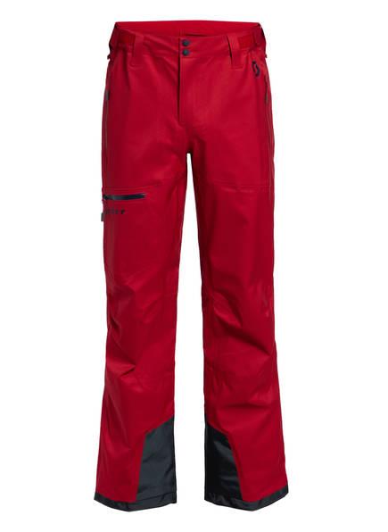 SCOTT Skihose EXPLORAIR 3L, Farbe: ROT (Bild 1)