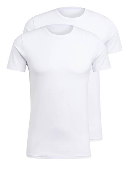 JOOP! 2er-Pack T-Shirts, Farbe: WEISS (Bild 1)