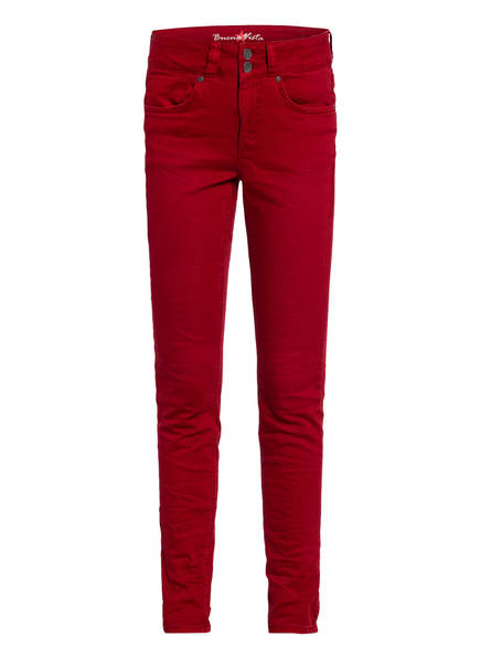 Buena Vista Jeans Tummyless Strech Twill, Farbe: ROT (Bild 1)