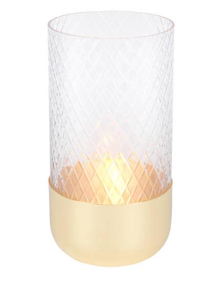 GIFTCOMPANY Windlicht MARYLEBONE, Farbe: TRANSPARENT/ GOLD (Bild 1)