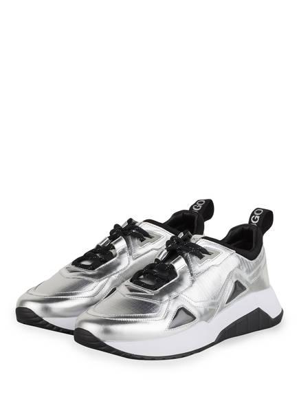 HUGO Sneaker ATOM RUNN, Farbe: SILBER/ SCHWARZ (Bild 1)