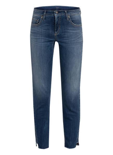 CAMBIO Jeans LIU mit Schmucksteinbesatz, Farbe: 5220 SOPHISTICATED USE BLUE (Bild 1)