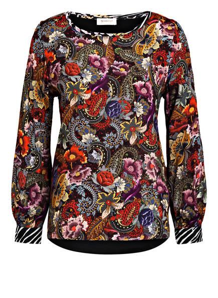 rich&royal Blusenshirt , Farbe: SCHWARZ/ ROT/ WEISS (Bild 1)