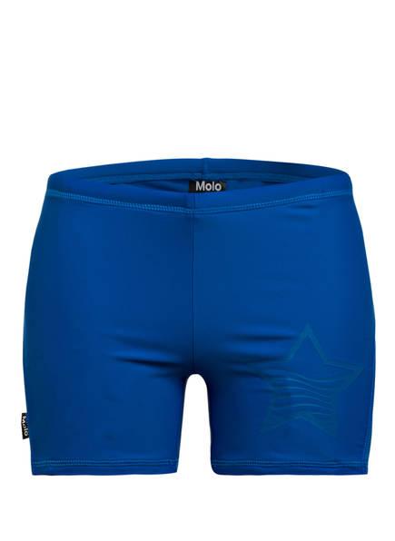 molo Badehose NORTON SOLID mit UV-Schutz 50+, Farbe: BLUE (Bild 1)