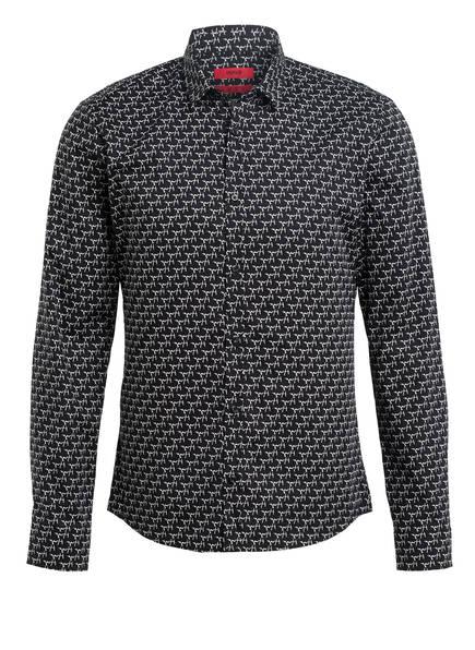 HUGO Hemd ERO3-W Extra Slim Fit , Farbe: SCHWARZ/ WEISS (Bild 1)