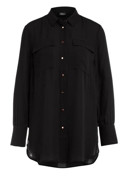 s.Oliver BLACK LABEL Bluse , Farbe: SCHWARZ (Bild 1)