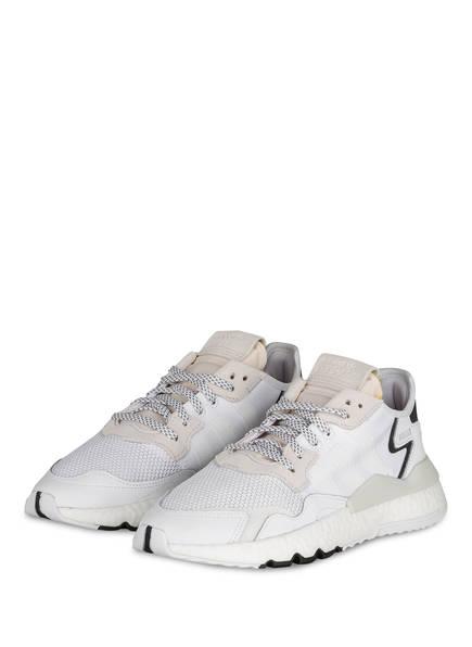 adidas Originals Sneaker NITE JOGGER, Farbe: WEISS/ HELLGRAU (Bild 1)