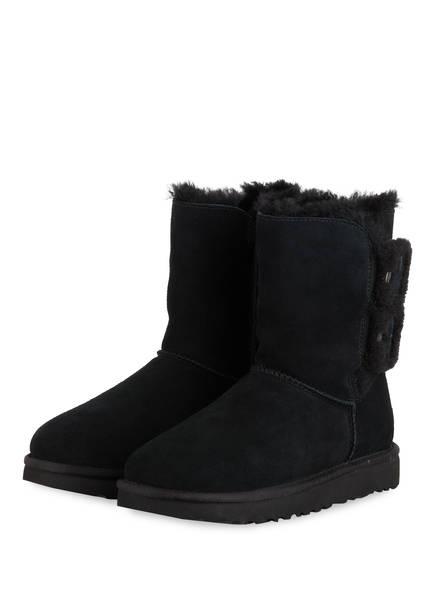 UGG Boots BAILEY FLUFF BUCKLE, Farbe: SCHWARZ (Bild 1)