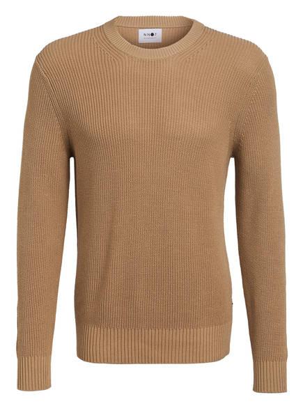 NN07 Pullover KNUT, Farbe: HELLBRAUN (Bild 1)