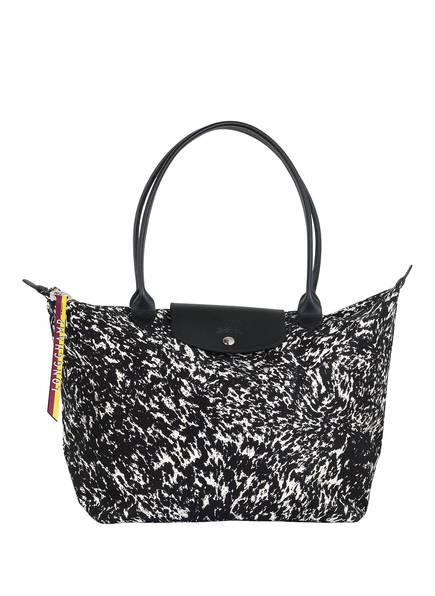 LONGCHAMP Shopper LE PLIAGE APPALOOSA , Farbe: SCHWARZ/ WEISS (Bild 1)
