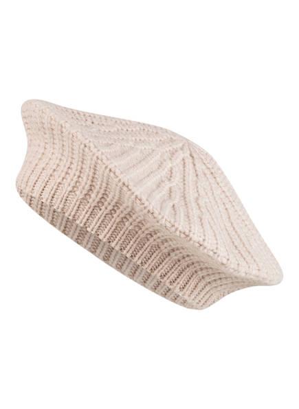 REPEAT Baskenmütze aus Cashmere, Farbe: BEIGE (Bild 1)