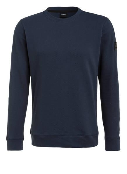 BOSS Sweatshirt WESTRUCTURE , Farbe: DUNKELBLAU (Bild 1)