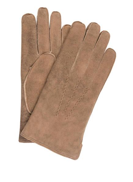 tr HANDSCHUHE WIEN Handschuhe , Farbe: HELLBRAUN (Bild 1)