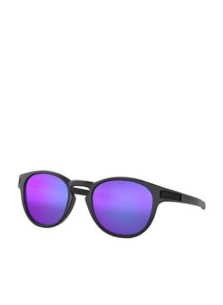 OAKLEY Sonnenbrille LATCH , Farbe: 926506 - SCHWARZ/ LILA VERSPIEGELT (Bild 1)