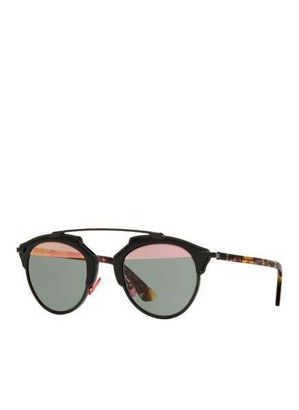 Dior Sunglasses Sonnenbrille DIORSOREAL , Farbe: 1330L1 - SCHWARZ/ GRAU VERSPIEGELT (Bild 1)