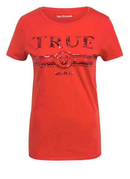 TRUE RELIGION T-Shirt, Farbe: ROT (Bild 1)