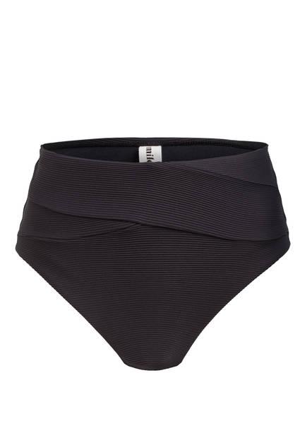 miléa Bikini-Hose MINI RIB , Farbe: SCHWARZ (Bild 1)