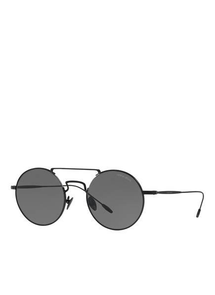 GIORGIO ARMANI Sonnenbrille AR6072 , Farbe: 300187 - SCHWARZ/ SCHWARZ (Bild 1)