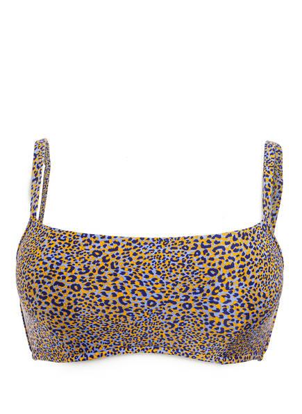 SEAFOLLY Bustier-Bikini-Top SPIRIT ANIMAL, Farbe: REFLEX BLUE (Bild 1)