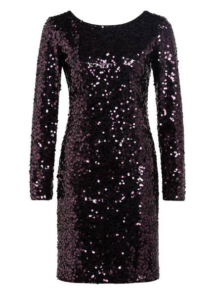 HUGO Kleid KENDIS, Farbe: SCHWARZ/ LILA (Bild 1)
