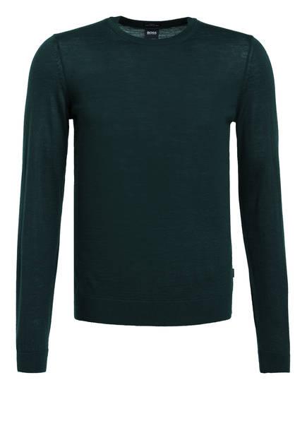 BOSS Pullover LENO-P, Farbe: DUNKELGRÜN (Bild 1)