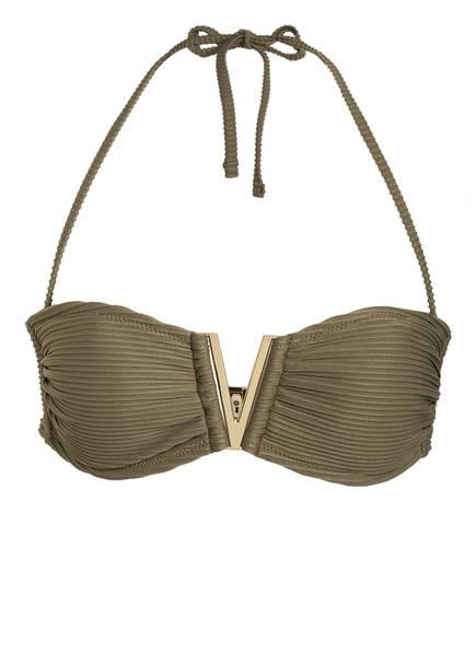 heidi klein Bandeau-Bikini-Top VENICE, Farbe: KHAKI (Bild 1)