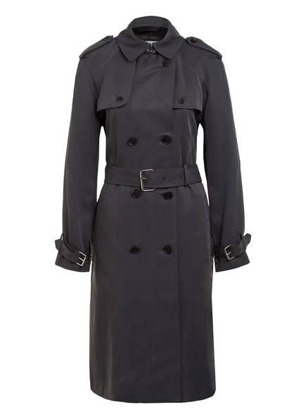 Calvin Klein Trenchcoat, Farbe: DUNKELGRAU (Bild 1)