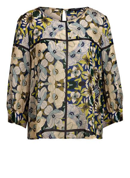 LUISA CERANO Bluse , Farbe: ECRU/ HELLGRÜN/ BLAU (Bild 1)