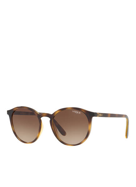 VOGUE Sonnenbrille 0VO5215S, Farbe: W65613 - HAVANA/ BRAUN VERLAUF (Bild 1)