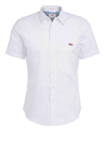 Levi's® Halbarm-Hemd BATTERY Slim Fit , Farbe: WEISS (Bild 1)
