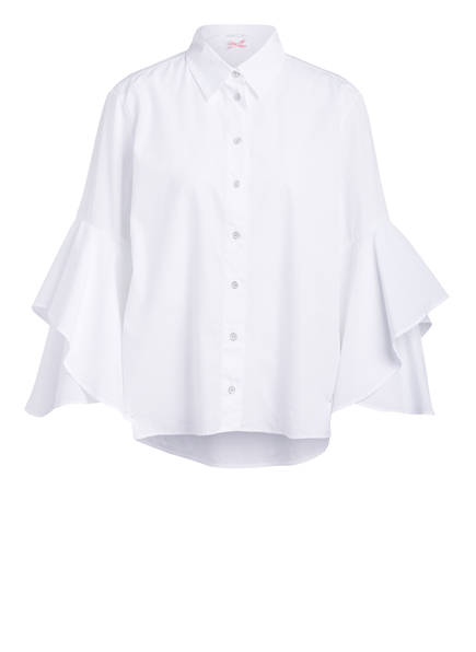 MARCCAIN Oversized-Bluse, Farbe: 100 WEISS (Bild 1)