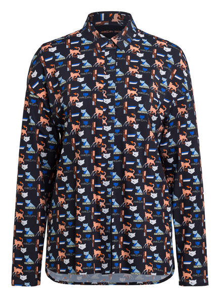 MARCCAIN Bluse , Farbe: 395 LOGO CAT (Bild 1)