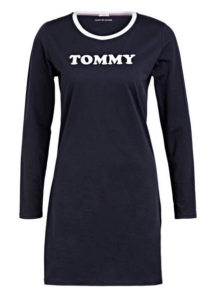 TOMMY HILFIGER Nachthemd, Farbe: DUNKELBLAU (Bild 1)