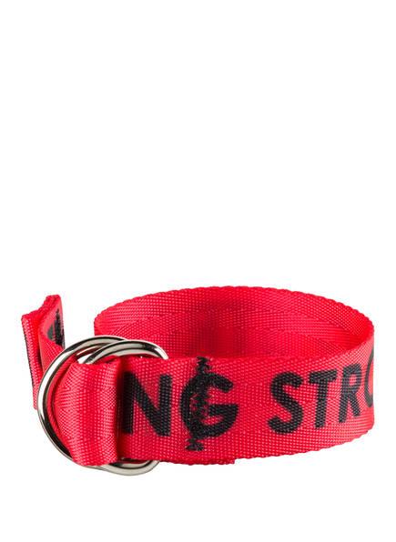 belt dept Armband , Farbe: ROT/ SCHWARZ (Bild 1)