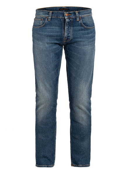 Nudie Jeans Jeans GRIM TIM Straight Slim Fit , Farbe: PALE SHELTER BLUE (Bild 1)