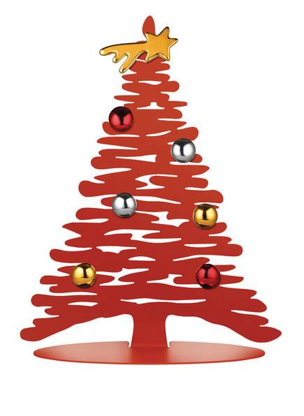 ALESSI Magnetischer Deko-Weihnachtsbaum BARK FOR CHRISTMAS , Farbe: ROT/ GOLD/ SILBER (Bild 1)