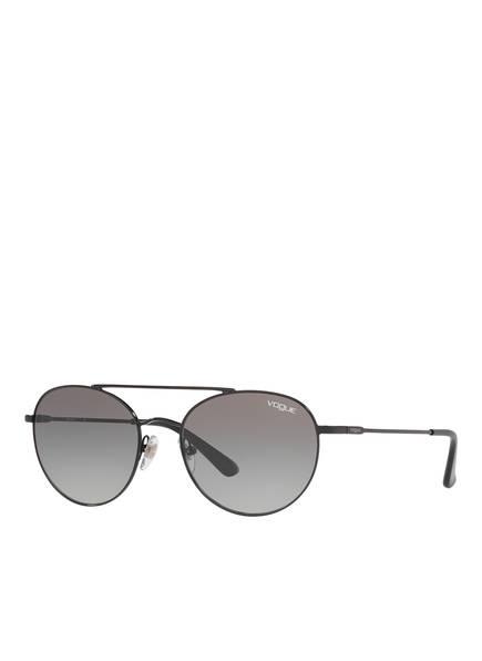 VOGUE Sonnenbrille 0VO4129S, Farbe: 352/11 - SCHWARZ/ GRAU VERLAUF (Bild 1)