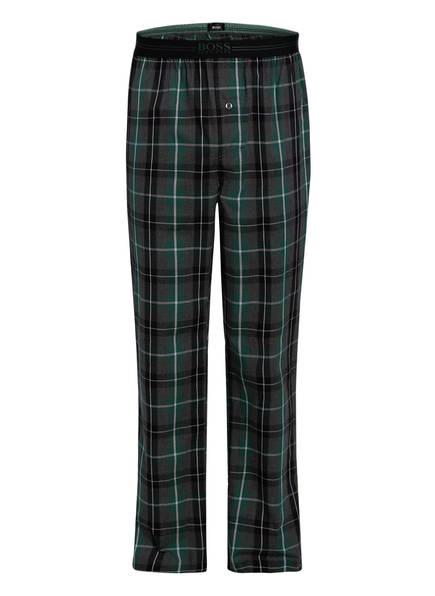 BOSS Schlafhose, Farbe: GRAU/ GRÜN KARIERT (Bild 1)