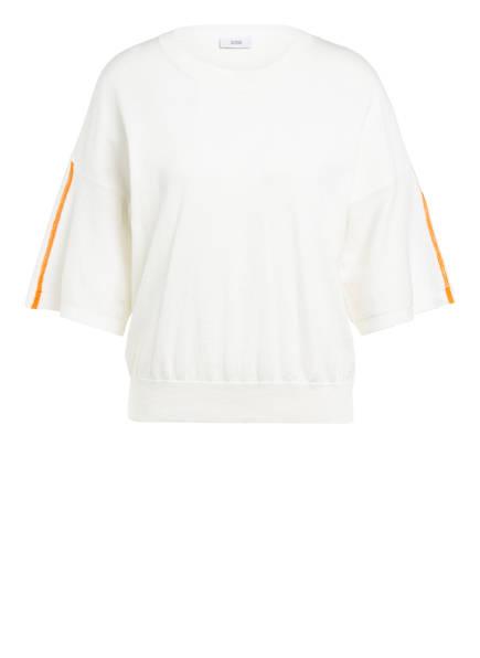 CLOSED Kurzarm-Pullover, Farbe: CREME (Bild 1)