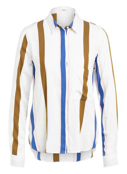 CLOSED Bluse HAILEY, Farbe: WEISS/ OLIV/ BLAU (Bild 1)